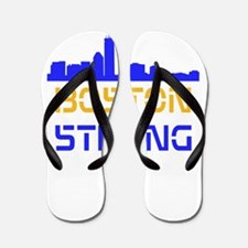 Boston Strong Skyline Multi-Color Flip Flops