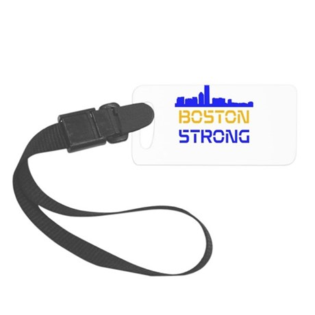 Boston Strong Skyline Multi-Color Luggage Tag