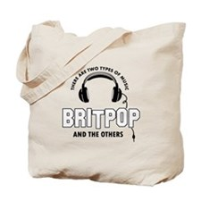 Britpop lover designs Tote Bag