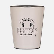 Britpop lover designs Shot Glass
