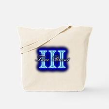 Three Percent Clear Glow Tote Bag