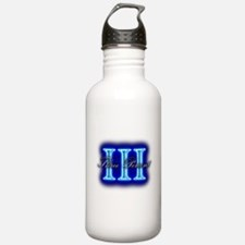 Three Percent Clear Glow Water Bottle