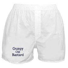Grumpy old Bastard Boxer Shorts