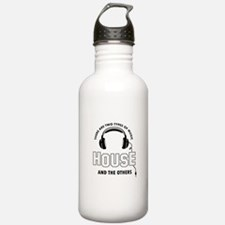 House lover designs Water Bottle