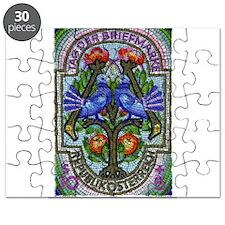 1996 Austria Birds Mosaic Postage Stamp Puzzle
