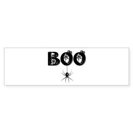 BOO Bumper Sticker