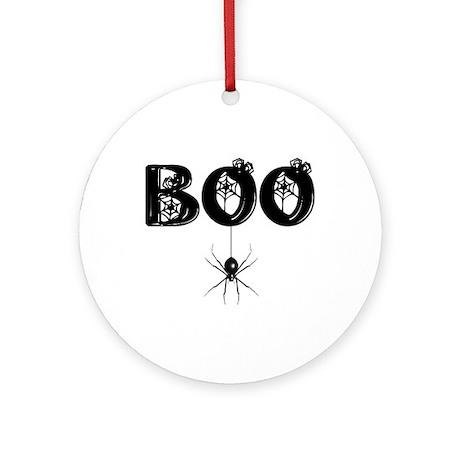 BOO Ornament (Round)