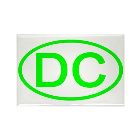 DC Oval - Washington DC Rectangle Magnet (10 pack)