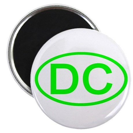 DC Oval - Washington DC Magnet