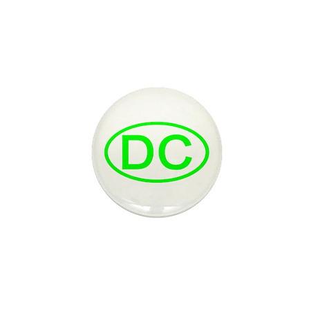 DC Oval - Washington DC Mini Button (100 pack)