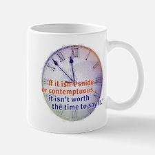 snide & contemptuous Small Small Mug