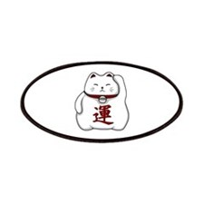 Lucky Cat White Patches