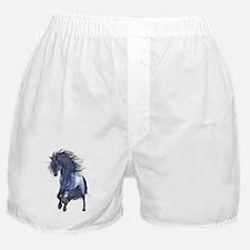 Blue Unicorn 1 Boxer Shorts