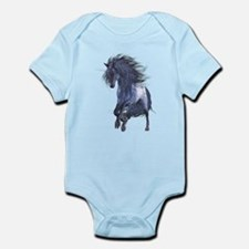 Blue Unicorn 1 Infant Bodysuit