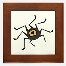 ITSY TIPSY SPIDER Framed Tile