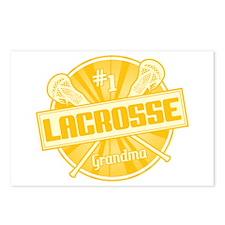 #1 Lacrosse Grandma Postcards (Package of 8)