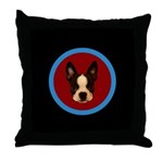 HENRY THE BOSTON TERRIER Pillow