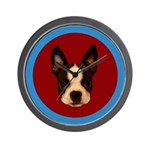 HENRY THE BOSTON TERRIER Clock