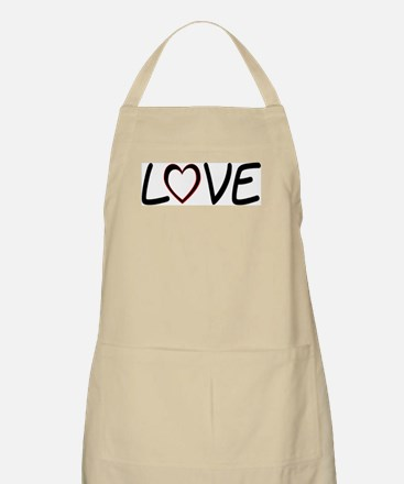 Love Is An Action Verb BBQ Apron