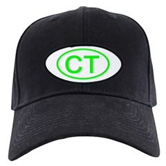 CT Oval - Connecticut Baseball Hat