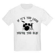 Drum Vector designs T-Shirt