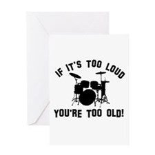 Drum Vector designs Greeting Card