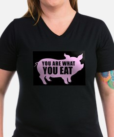 You Are What You Eat / Black T-Shirt