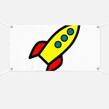 yellow rocket Banner