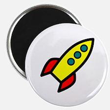 yellow rocket Magnet