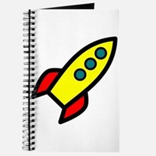 yellow rocket Journal