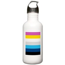 'Modern Stripe' Water Bottle