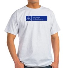 This train is for Cockfosters. T-Shirt