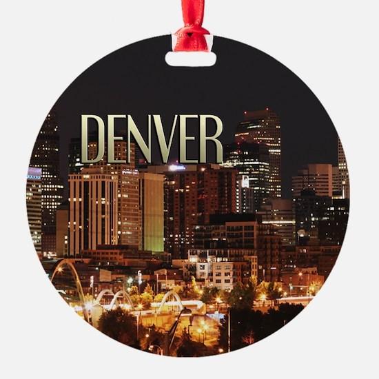 Denver Colorado Ornament