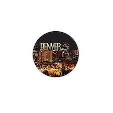 Denver Colorado Mini Button