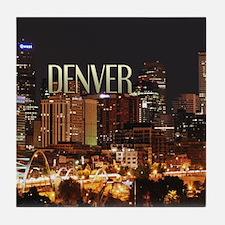 Denver Colorado Tile Coaster