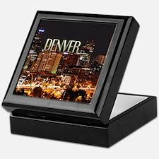 Denver Colorado Keepsake Box