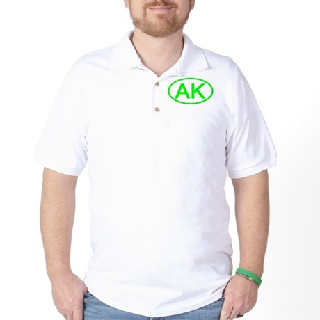 AK Oval - Alaska Golf Shirt