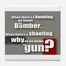 Blaming the gun? Tile Coaster