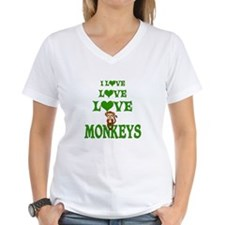 Love Love Monkeys Shirt