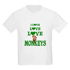 Love Love Monkeys T-Shirt