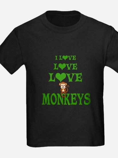 Love Love Monkeys T