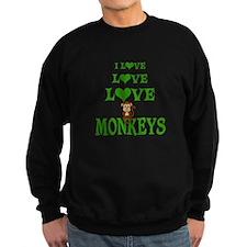 Love Love Monkeys Sweatshirt