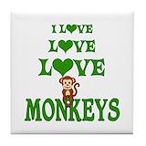 Monkey Drink Coasters