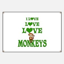 Love Love Monkeys Banner