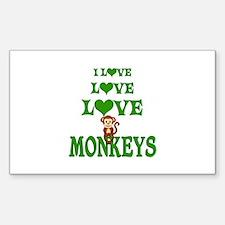 Love Love Monkeys Decal