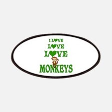 Love Love Monkeys Patches