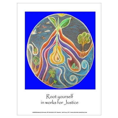 Rooted in JusticeWall Art Canvas Art