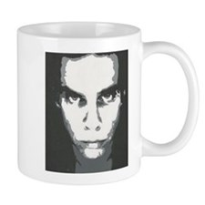 Original Nick Cave painting coffe mug