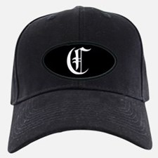 Gothic Initial C Baseball Hat