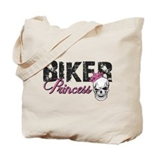 Biker Princess Tote Bag